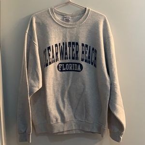 Clearwater Beach crew neck sweater